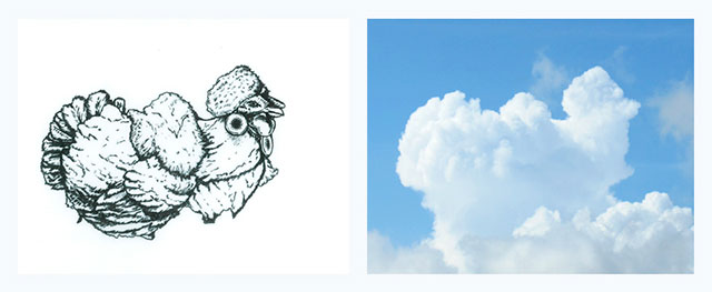 Cloud Drawings Artwork // Best Tumblr Illustration Blogs & Art Portfolio