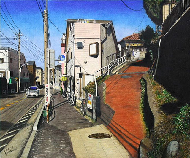 Japanese Artwork | Awesome Photorealistic Colored Pencil Drawings, by Ryota Hayashi