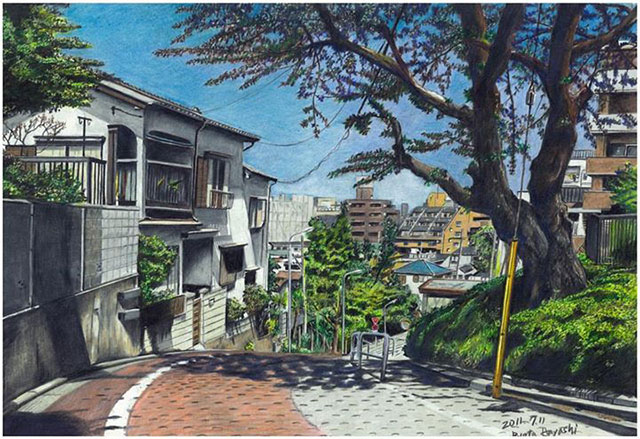 Color Pencil Work Ryota Hayashi