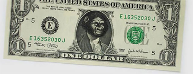 Planet Of The Apes Money | One Dollar Bill Art by Ivan Duval and Jean Sebastien Ides