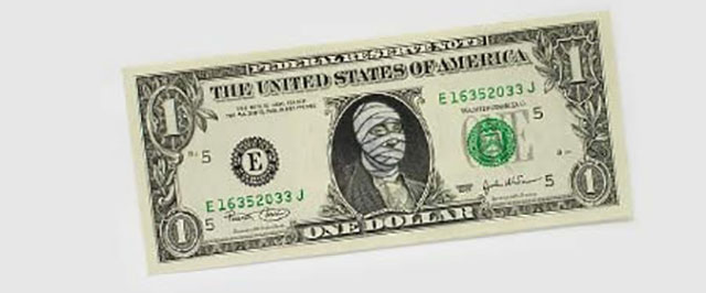 Mummy Money | One Dollar Bill Art by Ivan Duval and Jean Sebastien Ides