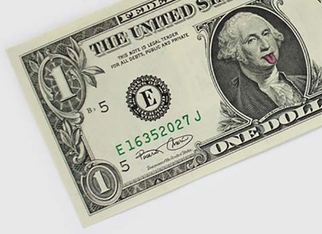 George Washington Artwork | One Dollar Bill Art by Ivan Duval and Jean Sebastien Ides
