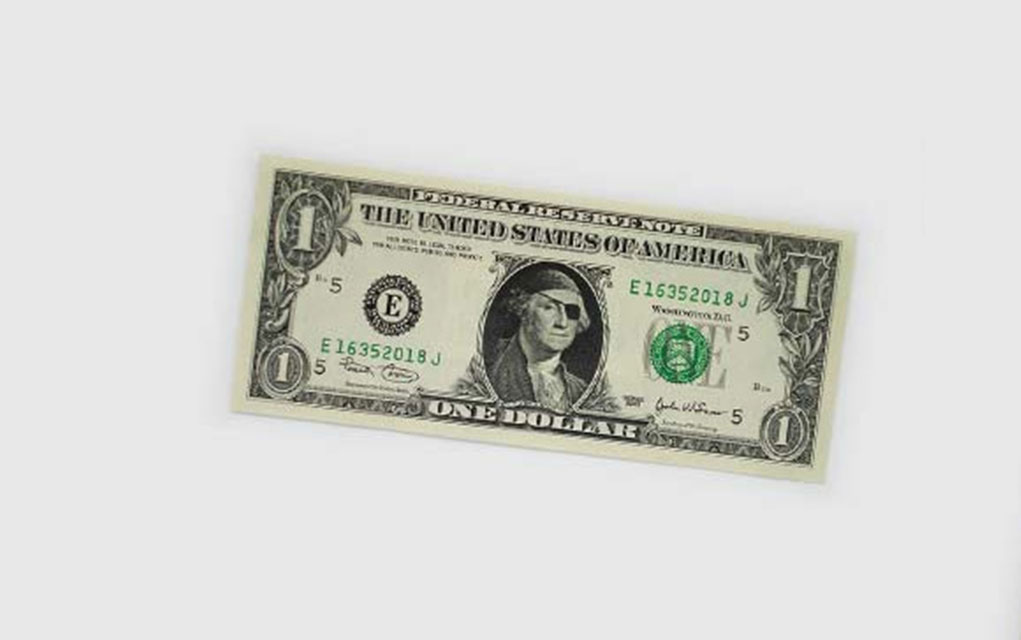 They Managed To Create This One Dollar Bill Art Without Getting Caught And Put To Jail