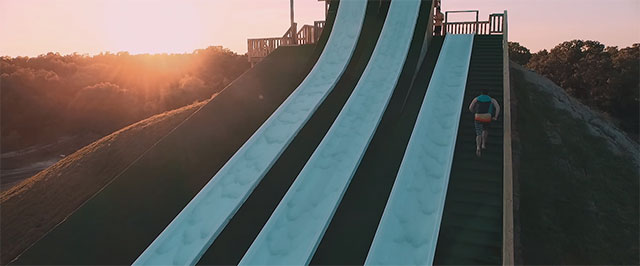 The Royal Flush, Massive Waterslide From BSR Cable Park Resort