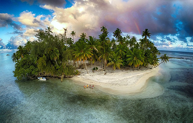 Lost Island, Tahaa, French Polynesia | International Drone Photography Contest Winners