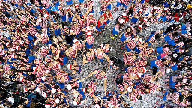 Where's Waldo? | International Drone Photography Contest Winners
