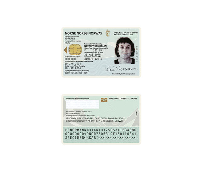 Norway ID Card Re-Design | Norway New Passport Design, Cool New Travel Document