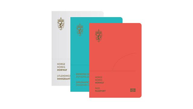 Norway Passport Re-Design With Aurora Borealis | Norway New Passport Design, Cool New Travel Document