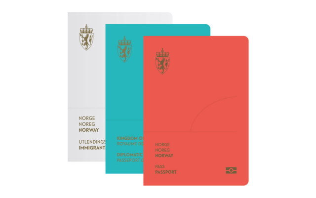 Norweigian Passport Design Easter Egg