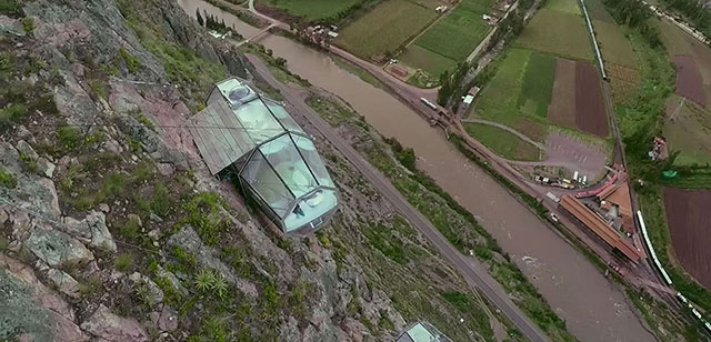 Skylodge Peru Mountain Capsule Hotel | Glass Hanging Hotels At 400 Feet Above Sacred Valley