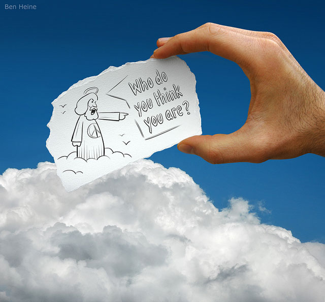 Heaven Angel Photo // Pencil Photography Drawing, Pencil vs Camera Ideas by Ben Heine