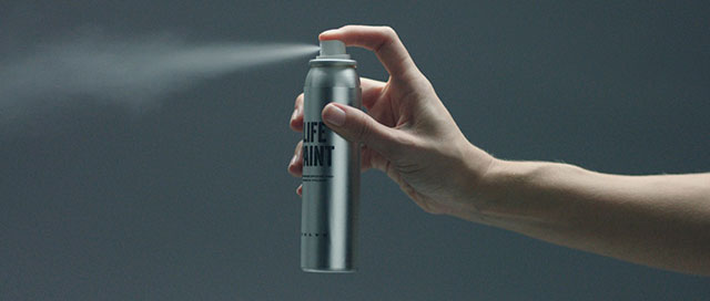 Reflective Volvo Invisible Spray Paint For Night Cyclists Safety