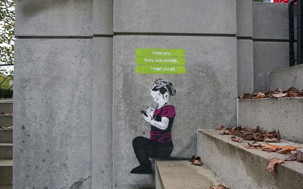 This Social Media Inspired Street Art Will Make You Smile