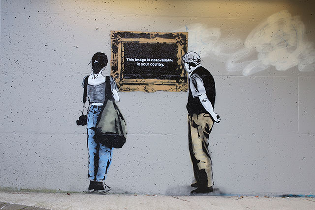 Image Not Available | Social Media Street Art, a Sign Of The Times