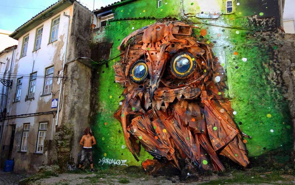 10 Clever Artists Who Let Nature Do The Hard Work...