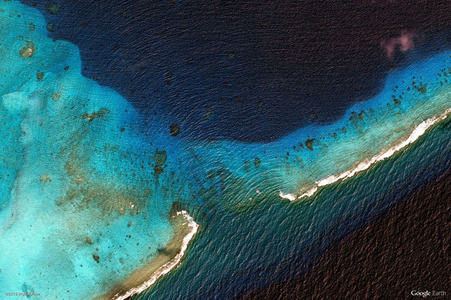 The Marshall Islands | 10 Most Beautiful Google Earth Aerial View Landscapes Images (With Wallpapers)