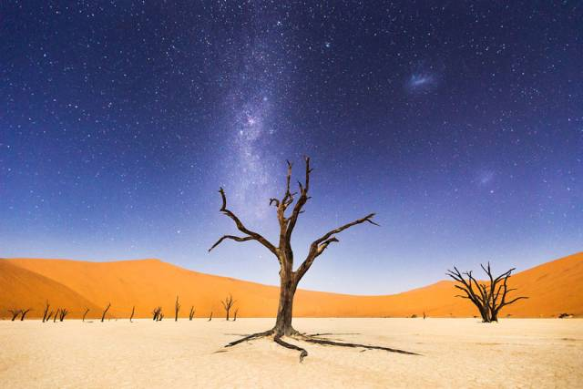 Merit Winner: A Night At Deadvlei | 10 Best Winners From The National Geographic Traveler Photo Contest 2015