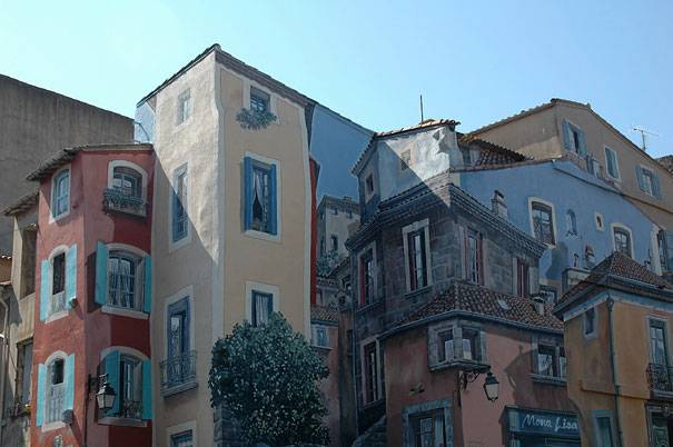 Buildings Within Buildings Mural | 10 Creative 3D Street Art Wall Murals