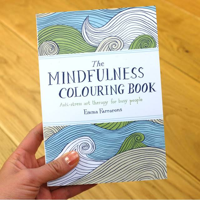 The Mindfulness Coloring Book: Anti-Stress Art Therapy For Busy People, By Emma Farrons | 10 Best Coloring Books For Adults, Stress Relief
