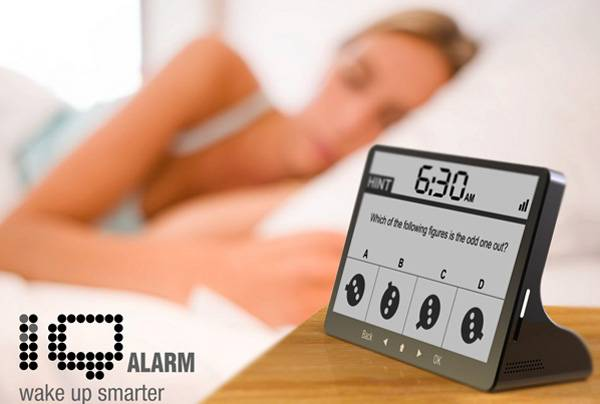 The Brain Teasers IQ Alarm Clock | 10 Best Cool Alarm Clocks For Heavy Sleepers