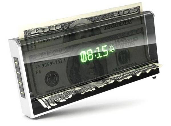 The Money Shredding Alarm Clock | 10 Best Cool Alarm Clocks For Heavy Sleepers