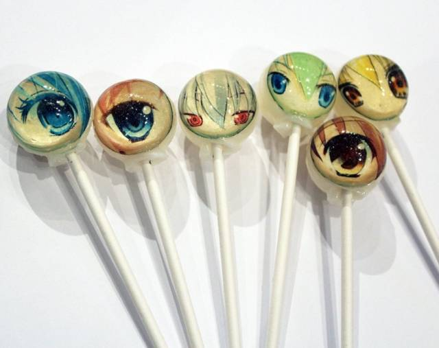 Eyes Of Anime Lollipops | 10 Incredibly Creative Lollipops For National Lollipop Day