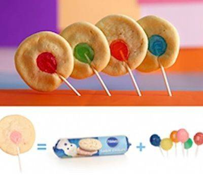 Rainbow Cookie Lollipops | 10 Incredibly Creative Lollipops For National Lollipop Day