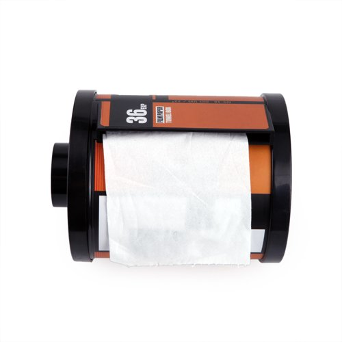 Camera Film Toilet Paper Cover | Top 10 Cool & Creative Best Gifts For Photographers: Funny Camera Gadgets & Accessories Too