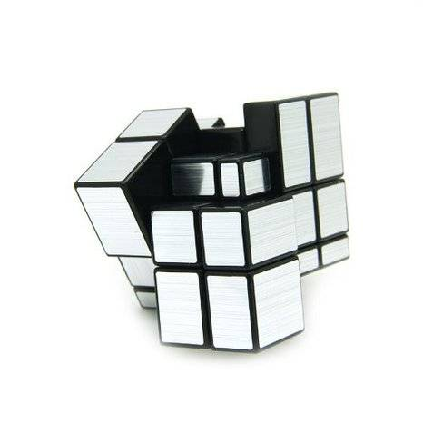 The Silver Moonlight Mirror Cube | 10 Coolest Weird Rubik's Cube Game Collection