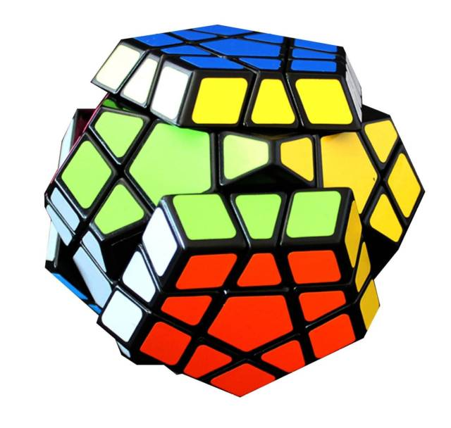 Pentagon MegaMinx Speed Cube | 10 Coolest Weird Rubik's Cube Game Collection