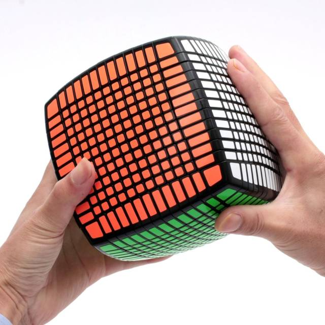 13 x 13 x 13 Power Speed Cube Puzzle | 10 Coolest Weird Rubik's Cube Game Collection