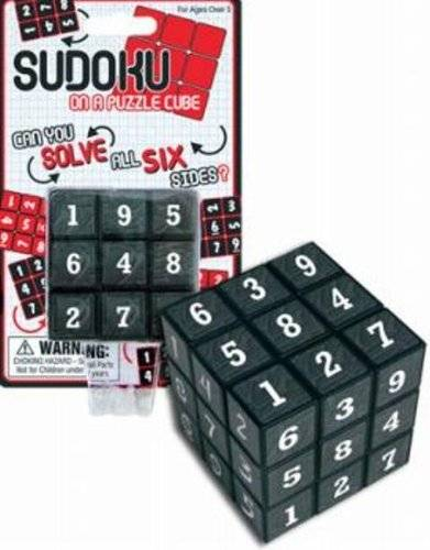 The Sudoku Rubik's Cube | 10 Coolest Weird Rubik's Cube Game Collection