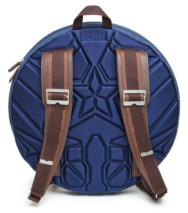 Avengers Captain America Shield Backpack // 10 Most Unique & Unusual Backpacks
