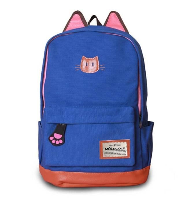Creative Cat Ears Backpack // 10 Most Unique & Unusual Backpacks