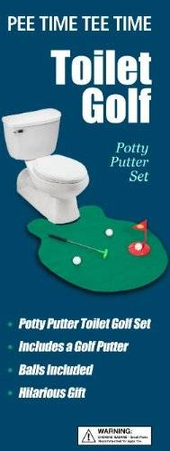 Potty Putter Toilet Golf Game // 10 CREATIVE Bathroom Toilet Games You Can Play While Fighting Constipation