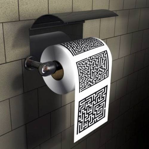 Labyrinth Maze Toilet Games // 10 CREATIVE Bathroom Toilet Games You Can Play While Fighting Constipation