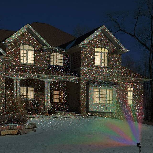 Virtual Christmas Lighting System For The Festive Season // 10 CREATIVE & Funky Lighting Designs That Will Make Your Home Incredible