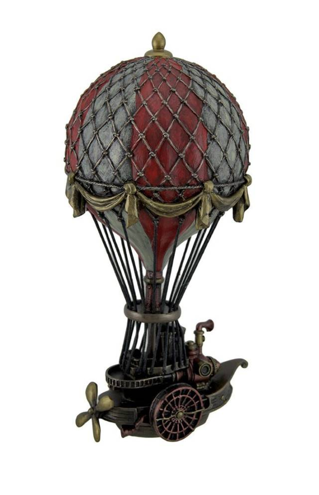 Steampunk Hot Air Balloon Statue Sculpture // 10 Creative STEAMPUNK Decor Accessories & Ideas That Will Change Your Timeline Forever