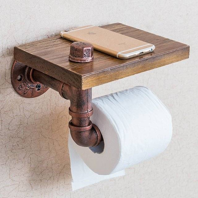 10 unique toilet paper holder designs that your bathroom Creative toilet paper holder