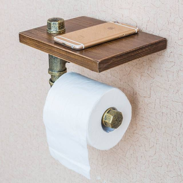 10 Unique Toilet Paper Holder Designs That Your Bathroom