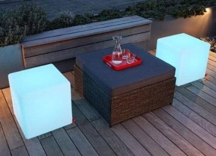 LED Light Cube Chairs // 10 Uniquely FUNKY Chair Designs That Will Transform Your Sitting Experience Forever
