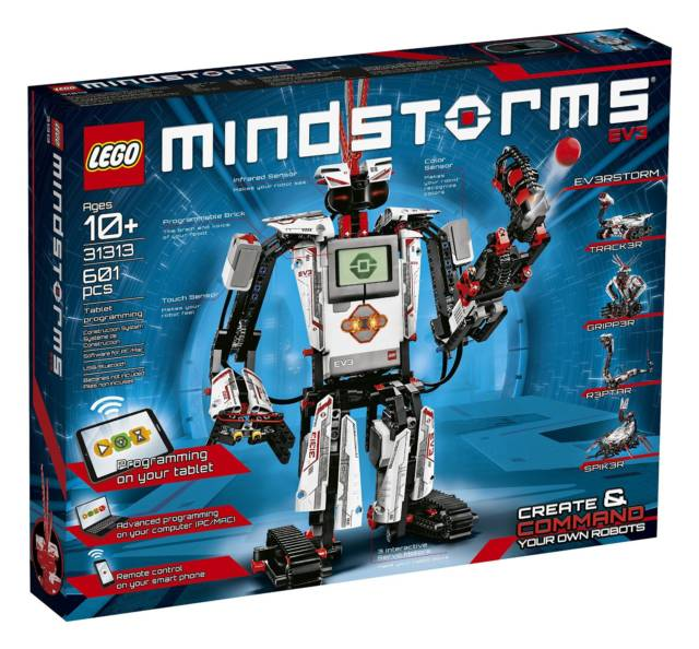 Lego Mindstorms EV3 31313 // 10 Creative Lego Machine & Robot Builds For Construction