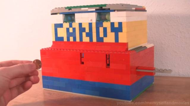 The Ultimate Lego Candy Machine // 10 Creative Lego Machine & Robot Builds For Construction