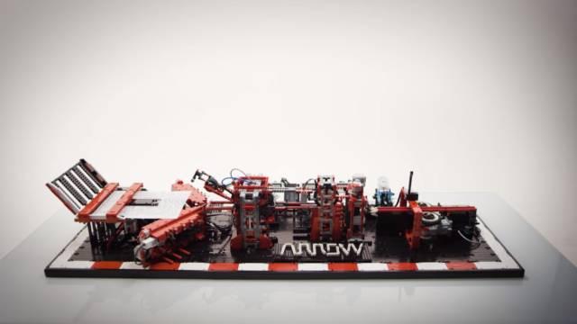 Automatic Lego Plane Machine // 10 Creative Lego Machine & Robot Builds For Construction