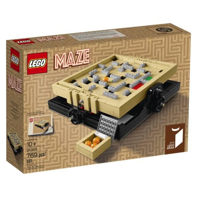 Lego Maze Building Kit // 10 Creative Lego Machine & Robot Builds For Construction