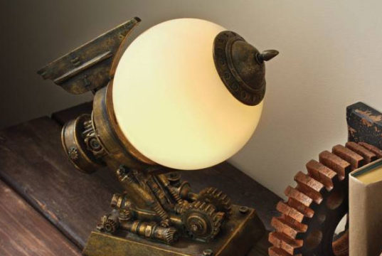 10 Creative Steampunk Decor & Accessories Ideas