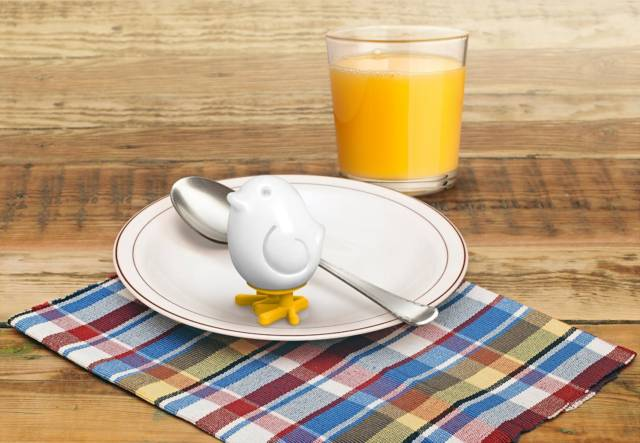 Egg-A-Matic Chick Boiled Egg Mold // 10 Creative Egg Molds For Boiled & Fried Eggs
