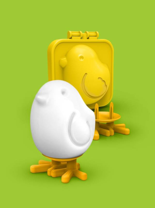 Egg-A-Matic Chick Boiled Egg Mold // 10 Creative EGG Molds For Fried & Boiled Eggs That Will Make You Want Eggs All Day Long