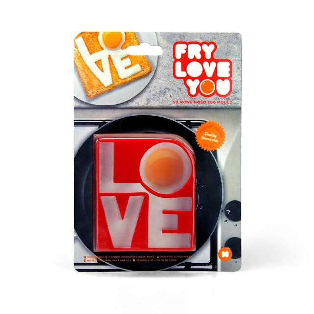 Lettered Love Silicone Egg Mold // 10 Creative EGG Molds For Fried & Boiled Eggs That Will Make You Want Eggs All Day Long
