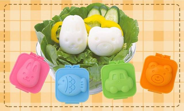 Cute Hard Boiled Egg Molds // 10 Creative EGG Molds For Fried & Boiled Eggs That Will Make Your Meals A HIT